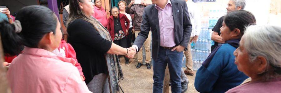 """Reconoce Gobernador trabajo de """"Las Patronas"""" en favor de los migrantes"""