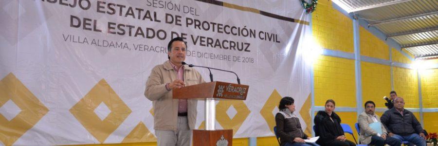 Arranca gobernador Cuitláhuac: Programa Especial de Temporada Invernal