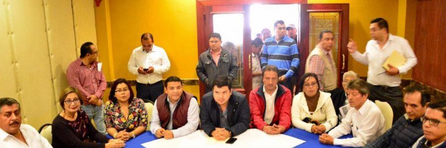 Avances para liberación del palacio municipal de Santiago Tuxtla: Gómez Cazarín