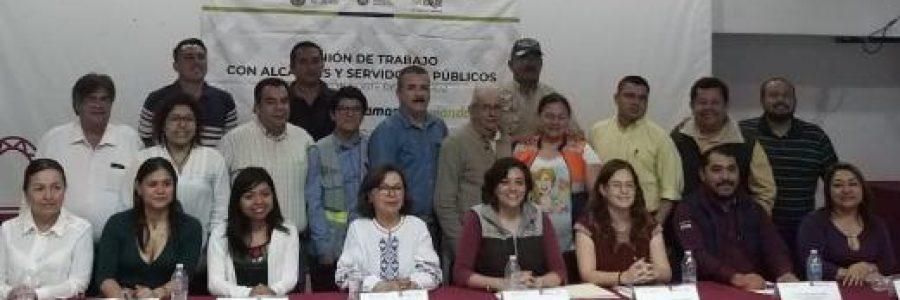 Diputada Elizabeth Cervantes se reúne con titular de PC en el norte del estado